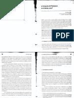 1La formación del Pentateuco en el debate actual (FELIX GARCÍA LÓPEZ) Estudios bíblicos LXVII (2009) 235-256