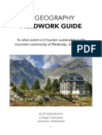 IB Geography Fieldwork Guide