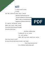 My PoeM1