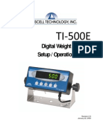 Manual Transcell Ti500e