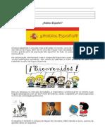 Língua e Cultura Hispânicas
