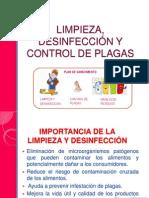 Limpieza, Desinfección y Control de Plagas - BPM