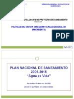01.Política Del Sector Saneamiento