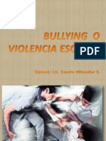 Bullying o Violencia Escolar