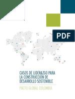 Casos de Liderazgo para la Construcción de Desarrollo Sostenible