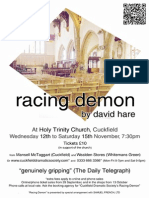 Racing Demon Full Colour Poster