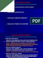 Analisa Sistem Tenaga