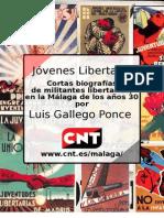 Cortas biografias de juventudes libertarias de Málaga
