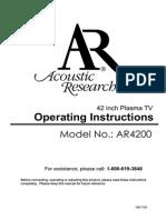 Acoustic-Research AR4200 Um