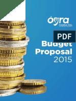 Ógra Fianna Fáil Pre-Budget Submission 2015