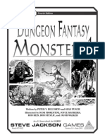 GURPS (4th Ed) - Dungeon Fantasy Monsters 1