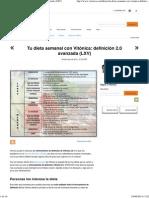Tu Dieta Semanal Con Vitónica_ Definición 2.0 Avanzada _(LXV_)