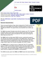 74 Series Logic ICs