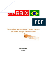 Grsecurity.com.Br Apostilas ZABBIX Tutorial de Instalacao Do Zabbix 1-8-10