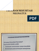 Program Resusitasi Neonatus