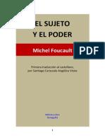 El Sujeto y El Poder Foucault
