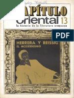 Capitulo_oriental_13 Herrera y Reissig