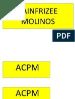 SAINFRIZEE MOLINOS