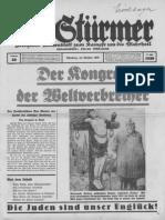 Der Stuermer - 1939 Nr. 40 (12 S., Scan, Fraktur).pdf