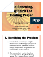 Mind Renewal and Healing Prayer