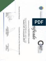 Certificado AutoCAD Avanzado