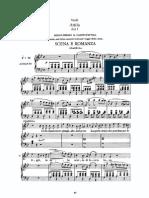 Verdi Attila Liberamente or Piangi