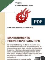 1 Mantenimiento PC