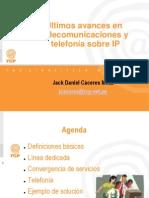 Ultimos Avances en Telecomunicaciones y Telefonia Sobre IP (UNIFE)