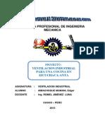 Informe Tecnico y Economico Proyecto Ventilacion Comedor Anta