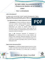 Tema 1-La Normalizacion
