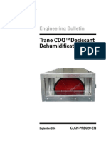 Engineering Bulletin CDQ Desiccant Dehumidification