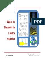 Bases de Mecánica de Fluido Y Filtros Resumida