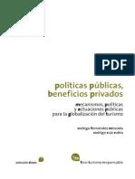 20140921-Politicas Publicas Beneficios Privados