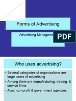 XXTypes of Advertising