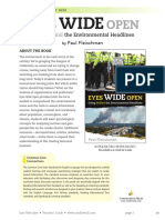 Eyes Wide Open Going Behind the Environmental Headlines Teachers' Guide