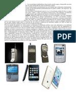 Evolución de La Tecnología Celular