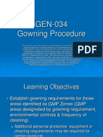 HG067-2.33 Gowning Procedures