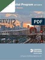 NY MTA 2015-2019 Capital Plan