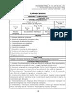 Plano de Ensino STR 2014