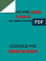 Lesiones Por Arma Blanca 6TA CLASE
