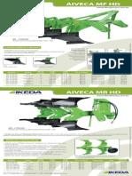 Catalogo de Peças Arado Aiveca Fixo MF4- HD