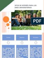 Actividades de Impacto Para Los Jóvenes Universitarios