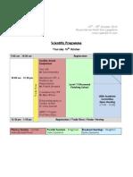 IAEM 2014 Programme