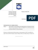 BM1403 Memorandum of Understanding