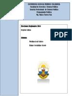 Mg. Marco Torres Paz- Eleccion Regional Callao 2014