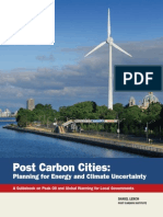 Post Carbon Cities