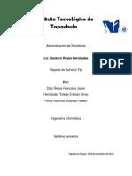 Practica 5 - Reporte Servidor Ftp