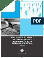 Impacto Socio-Económico de las Asociaciones Sin Fines de Lucro (ASFL) en República Dominicana.