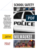 Milwaukee School Safety Report 2014