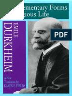 [Emile Durkheim] the Elentary Forms of Religious(BookFi.org) (1)